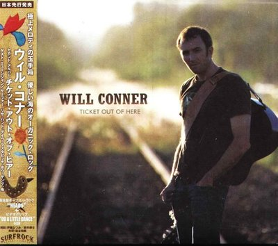 八八 - Will Conner - Ticket Out Of Here - 日版 CD+OBI