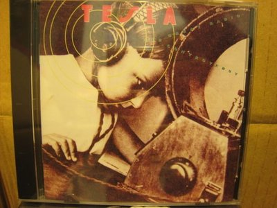 美版全新CD~泰斯拉合唱團/TESLA THE GREAT RADIO CONTROVERSY