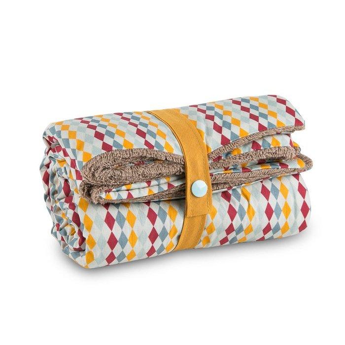 〖洋碼頭〗法國原產母嬰用品Carotte-Cie嬰兒毯嬰兒抱毯寶寶毯蓋毯滑稽圖 L3125