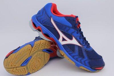 棒球世界美津濃 WAVE BOLT 7 男 排球鞋男款 V1GA186027特價