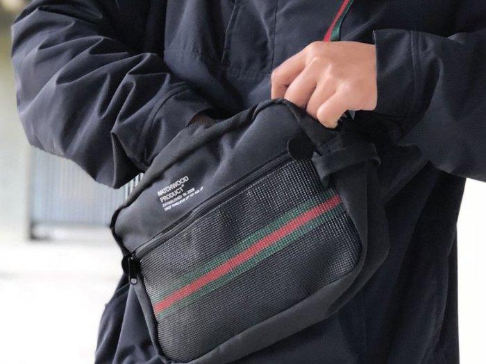 【Matchwood直營】Matchwood Summit 斜背包 側背包 單背包 手拿包 黑X綠紅織帶款 超取免運優惠