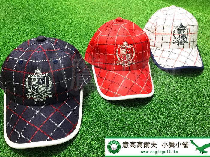 [小鷹小舖] Mizuno Golf Cap 52MW0502 美津濃 高爾夫 球帽 鴨舌帽 白/深藍/紅色 共三色