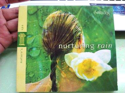 Nature's spa nurturing 培養雨 輝銀色 日本舒緩 CD