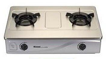 林內牌RTS-N201S省瓦斯 內焰爐 傳統式雙口瓦斯爐 節能ㄧ級【新竹免運】