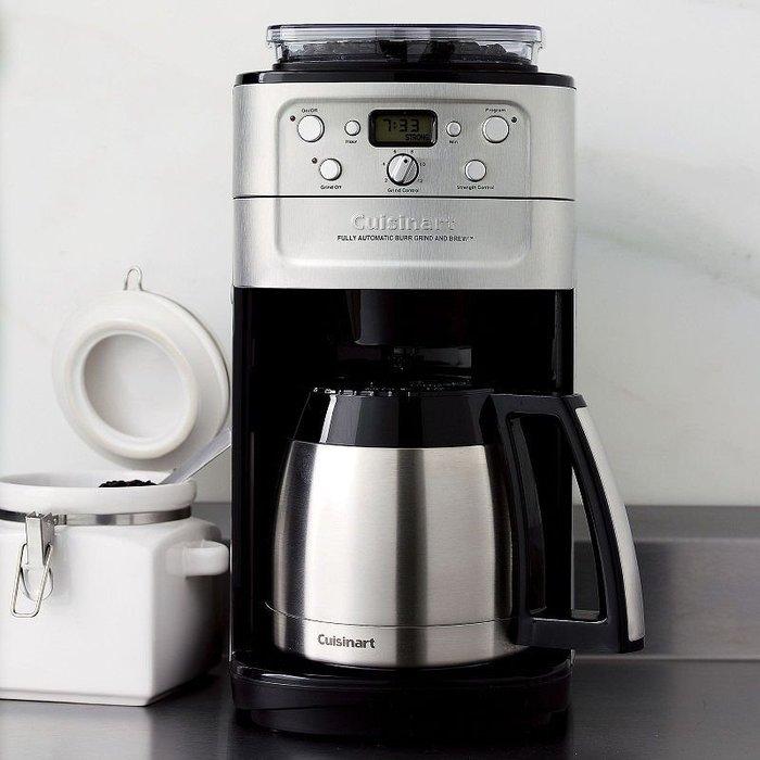 清倉特價!! 我最便宜!! 日本原裝 Cuisinart DGB-900PCJ 全自動研磨濾煮保溫壺咖啡機 12杯大容量