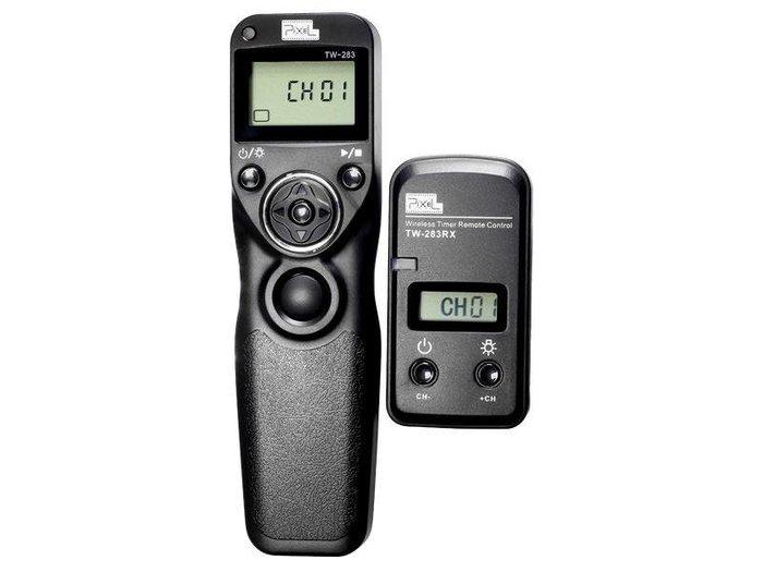 呈現攝影-品色(Pixel) TW-283 DC2 無線定時快門線 可換線 縮時攝影NikonD750/D7000/D5