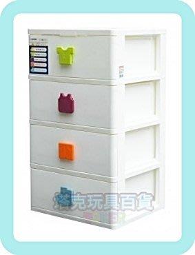 MIT 四層收納櫃 SP840 兒童 整理櫃 塑膠盒 收納 滑輪 櫃 置物箱 衣櫃 【H11002601】 塔克百貨