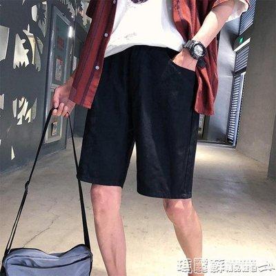 短褲 夏季潮流寬鬆五分褲韓版學生運動休閒褲子沙灘褲短褲男