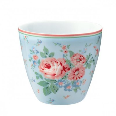 GreenGate Latte Cup Marley Pale Blue