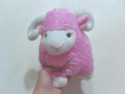 全新可愛粉紅綿羊(長約28公分)