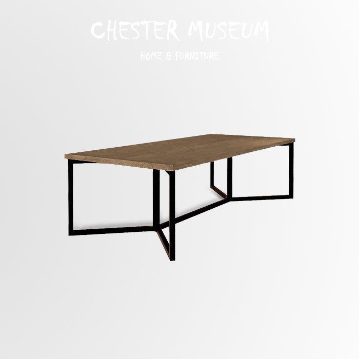 【中】工業風松木桌子(C款) 辦公桌 餐桌 總裁桌 長桌 桌子 會議桌 工業風桌 工業風桌子 工業風 桌子 工業風餐桌