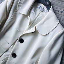 原價💲 三萬【 TAHARI 】牛奶白澎澎袖口公主風大衣