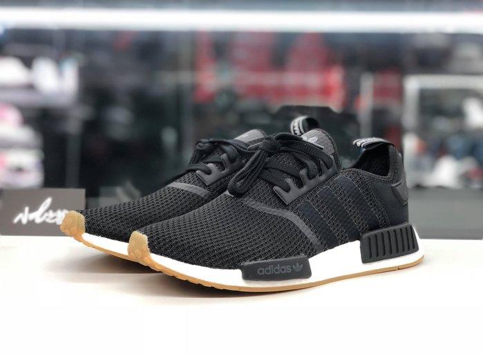 ☆小B之都☆ 現貨 Adidas Originals NMD R1 黑白 慢跑鞋 男女鞋 網布 B42200