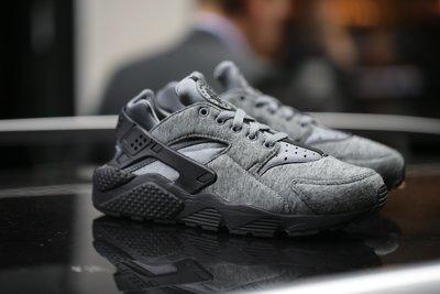Nike Air Huarache Run TP黑灰白武士749659-002棉絨棉質FLEECE非Y-3 Jordan