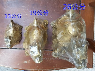銅龍龜擺件開光淨化(中) 銅大龍龜背八...