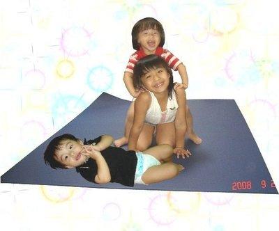 超大又加厚瑜珈墊 10mm*180*120cm.地墊.睡墊.遊戲墊.爬行墊.露營墊.野餐.墊.軟墊.萬用墊!╮瑜珈磚賣╭