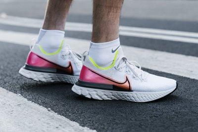 南◇2020 2月 NIKE REACT INFINITY RUN FK 白色紅色 慢跑鞋 編織 CD4371-004