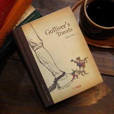 【象牙cute ta】韓國 Classicsam dairy_Gulliver  格列佛遊記 萬用日誌筆記本
