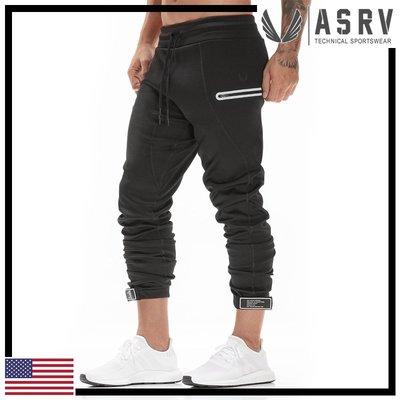 瘋狂金剛▸ 光澤黑 ASRV Coolever™ Sidelock™ Strap Jogger 快乾慢跑褲 運動 健身