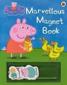*小貝比的家*PEPPA PIG:MARVELLOUS MAGNET BOOK /厚紙