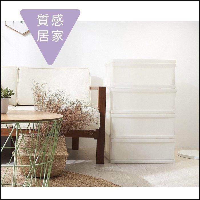 日式白色PP四抽收納櫃 簡約風抽屜櫃四斗櫃附輪子 滑輪組合抽屜置物櫃 儲藏室衣物櫃儲物櫃分類櫃無印風限量促銷【歐舍傢居】