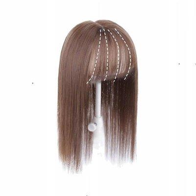 假髮 髮片-直髮短髮逼真大頭皮女假髮4色73us49[獨家進口][米蘭精品]