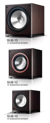 【興如】FNSD 華成 SUB-12 12吋 超重低音 大瓦數超震撼 含重低音主機 另售Yamaha NS-SW300