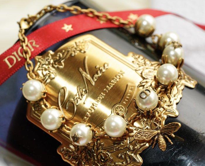 Dior Bracelet  珍珠小蜜蜂手鍊 金 現貨