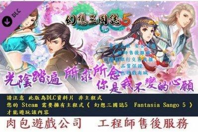 PC版 官方正版 資料片 肉包遊戲 幻想三國誌5 - 額外英傑召喚包 STEAM Fantasia Sango 5