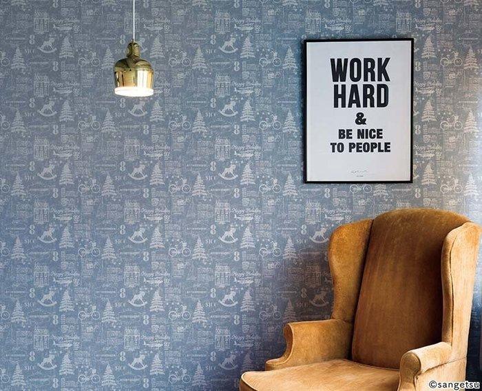 【日本壁紙】可愛圖案壁紙 Uluru Design 日本進口壁紙 日本製