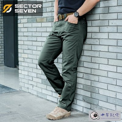 """《中華玩家》SECTOR SEVEN第七區-IX4""""刀鋒""""城市戰術長褲-【碳綠色/尺碼S】"""