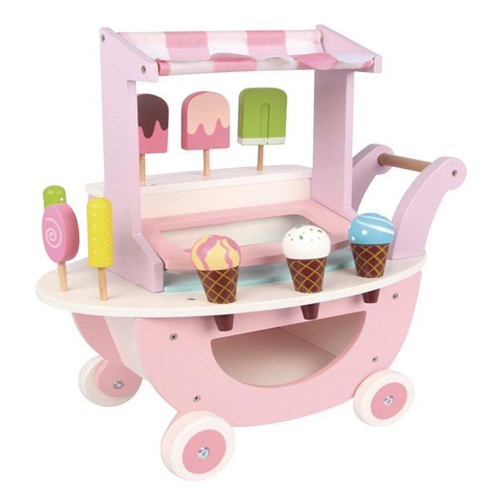 CHING-CHING親親-WOOD TOYS木製玩具組-冰淇淋推車(MSN18022)