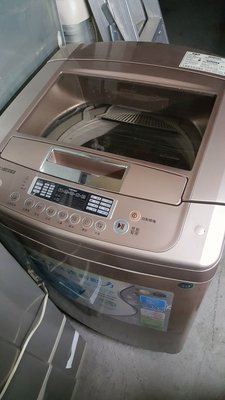 LG變頻13KG洗衣機八成新4500