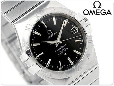 OMEGA 歐米茄 手錶 CONSTELLATION 星座 35mm 機械錶 藍寶石 瑞士 天文台 123.10.35.20.01.001