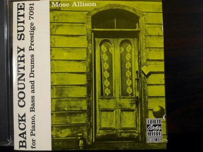 Mose Allison ~ Back Country Suite。