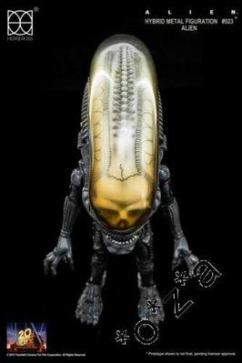 [現貨 全新 ] 86hero Herocross Hybrid Metal #023 鐵血戰士 The Alien 異形 異獸戰 Figure