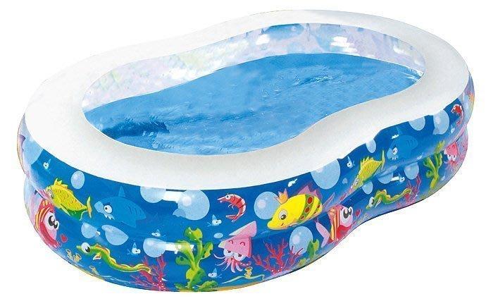 貝比的家-親親-海洋動物園二環8字型水池/泳池/戲水池/球池 -特價1125元