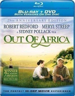 【藍光電影】走出非洲/遠離非洲 非洲之旅 Out of Africa (1985) 11-003