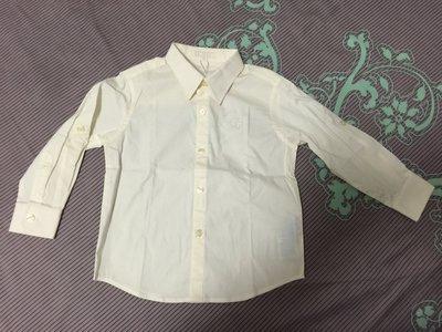 A033 [全新] Nicholas & Bears 男童學院風白襯衫 3Y Jacadi風 婚禮花童 賣場有POLO