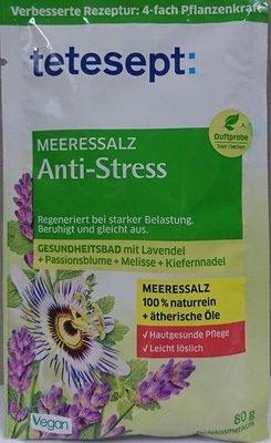德國 Tetesept Meeresalz Anti-Stress 死海鹽紓壓泡澡浴鹽