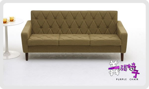 【 一張椅子 】日本 Karimoku60 復古 Lobby Chair 三人沙發.復刻版