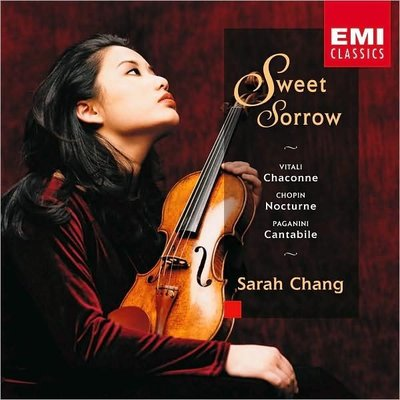 音樂居士*Sarah Chang 甜蜜的悲傷及相關 Sweet Sorrow*CD專輯