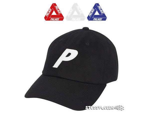 【超搶手】全新正品  2019 SS 現貨 Palace P 6-Panel 老帽 彎帽 鴨舌帽 黑色