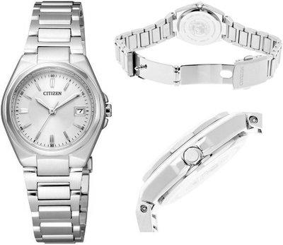 日本正版 CITIZEN 星辰 EW1381-56A 光動能 手錶 女錶 日本代購