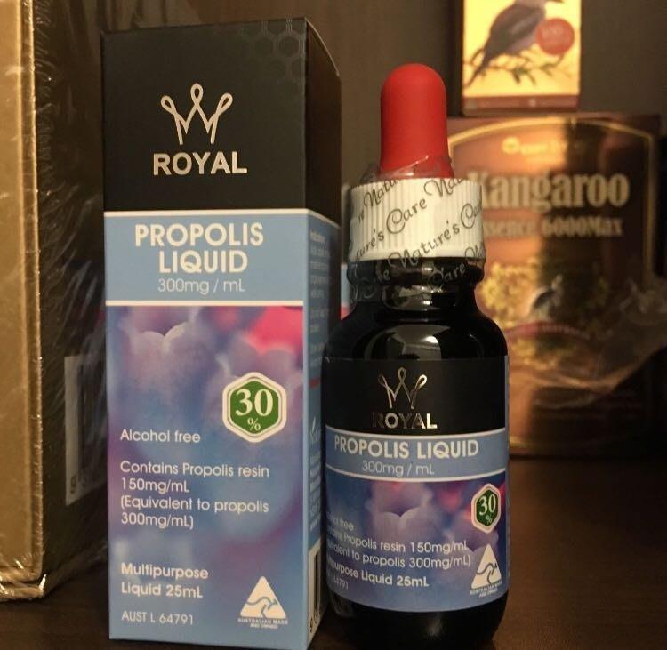 6瓶。促銷澳洲 Natures Care 皇家蜂膠精華液Royal Propolis Liquid30%無酒精。原味
