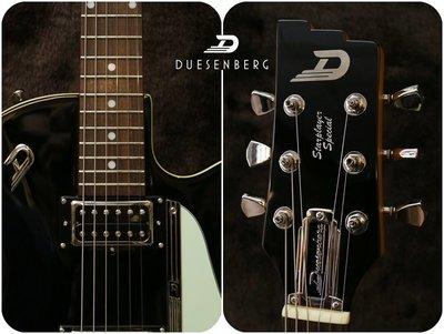 【又昇樂器 . 音響】德廠 Duesenberg Starplayer Special 電吉他 黑色 含原廠硬盒