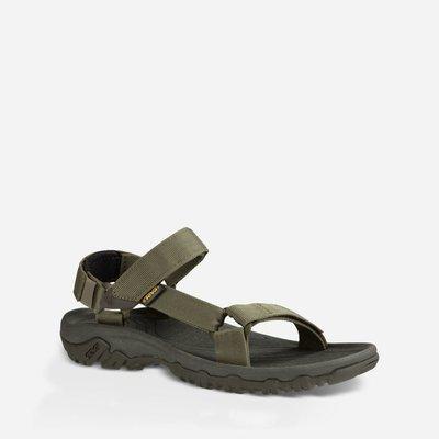 WaShiDa【HURRICANE】TEVA 美國品牌 夏日 運動 經典 多點式 調整 織帶 水陸 涼鞋 軍綠