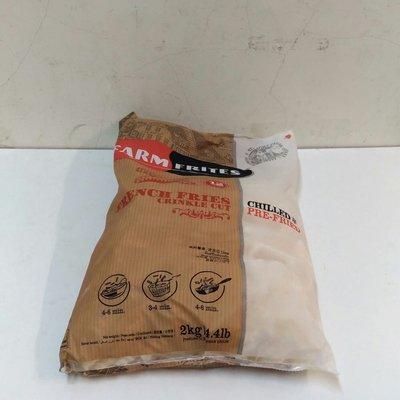 素食2公斤波浪薯條