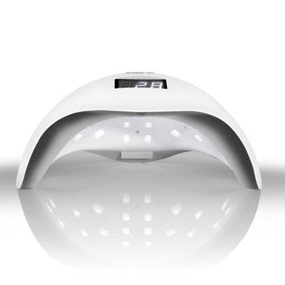 美甲光療機48W速幹美甲燈烘干機器感應光療led燈甲油膠指甲烤燈