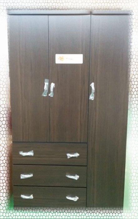 樂居二手家具 BN-C07*全新庫存4乘7衣櫃 高級衣櫥 斗櫃 收納櫃*租屋套房零碼臥室家具 便宜家二手家具賣場